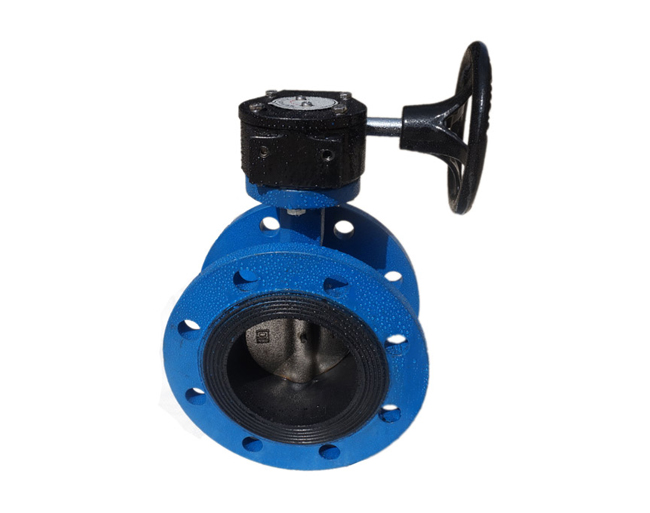 Flanged Concentric Butterfly Valve