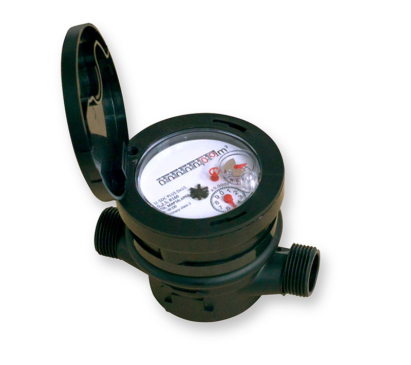 Single Jet Type Water Meter SJ-SDC DN15