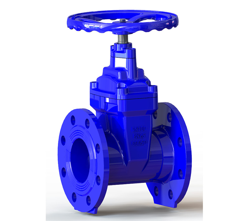 Non-rising Stem Resilient Seated Gate Valve PN25